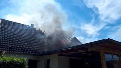 EFH in Werneuchen brannte und weitere Meldungen der Polizei