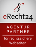 erecht24 siegel agenturpartner rot 1