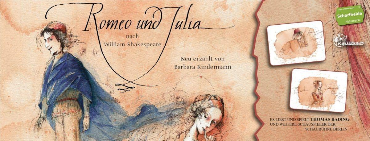 Willkommen im Sommertheater Shakespeare im Kletterwald