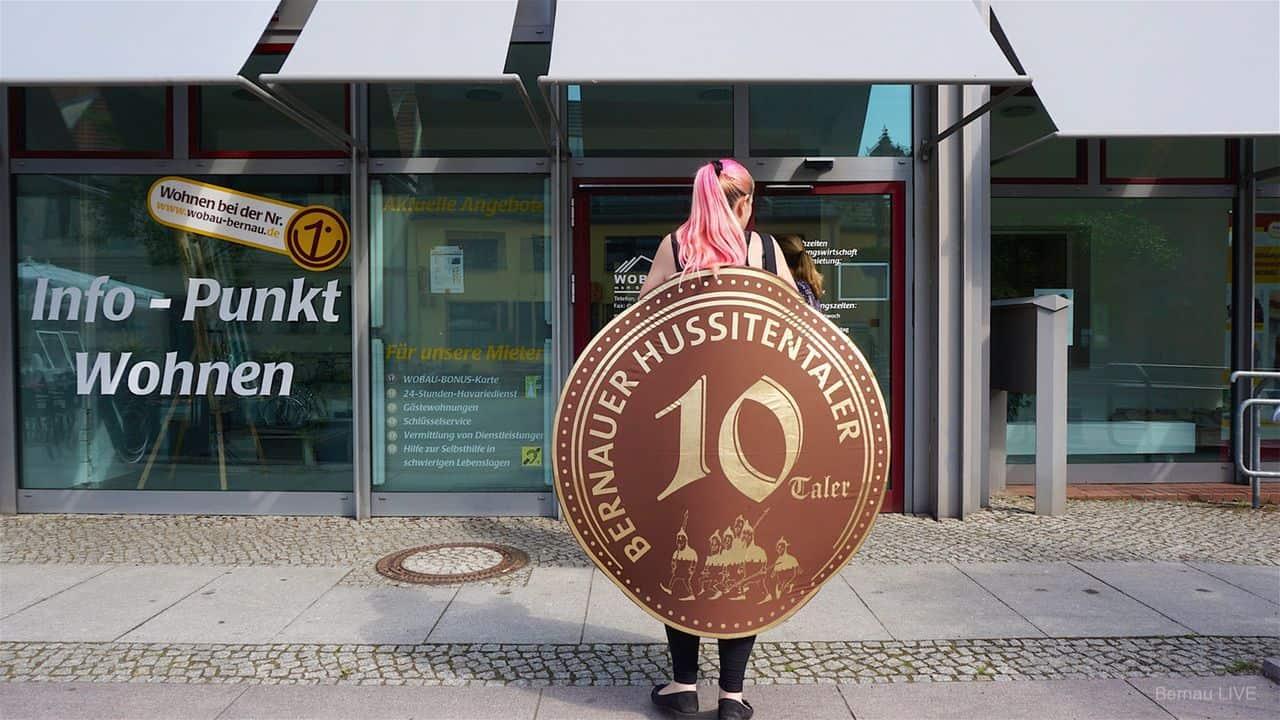 Bernau bei Berlin: Der neue Hussitentaler ist ab sofort erhältlich