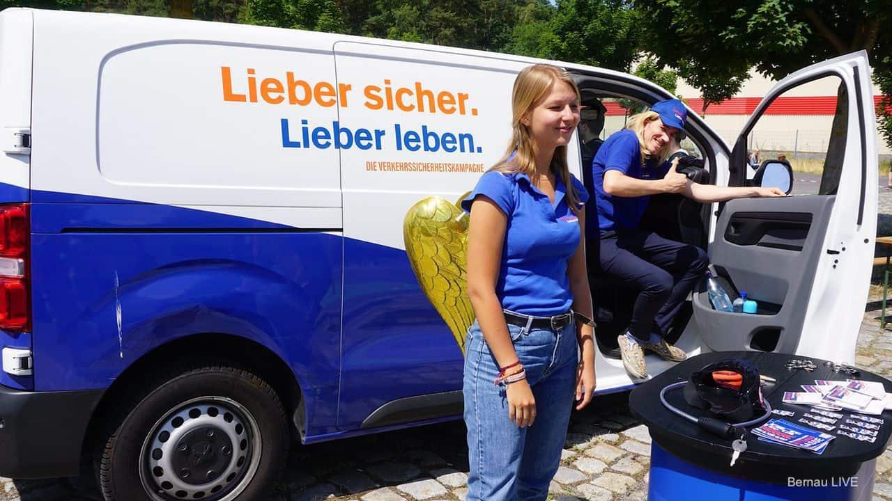 Tag der Verkehrssicherheit in Bernau am Oberstufenzentrum Barnim