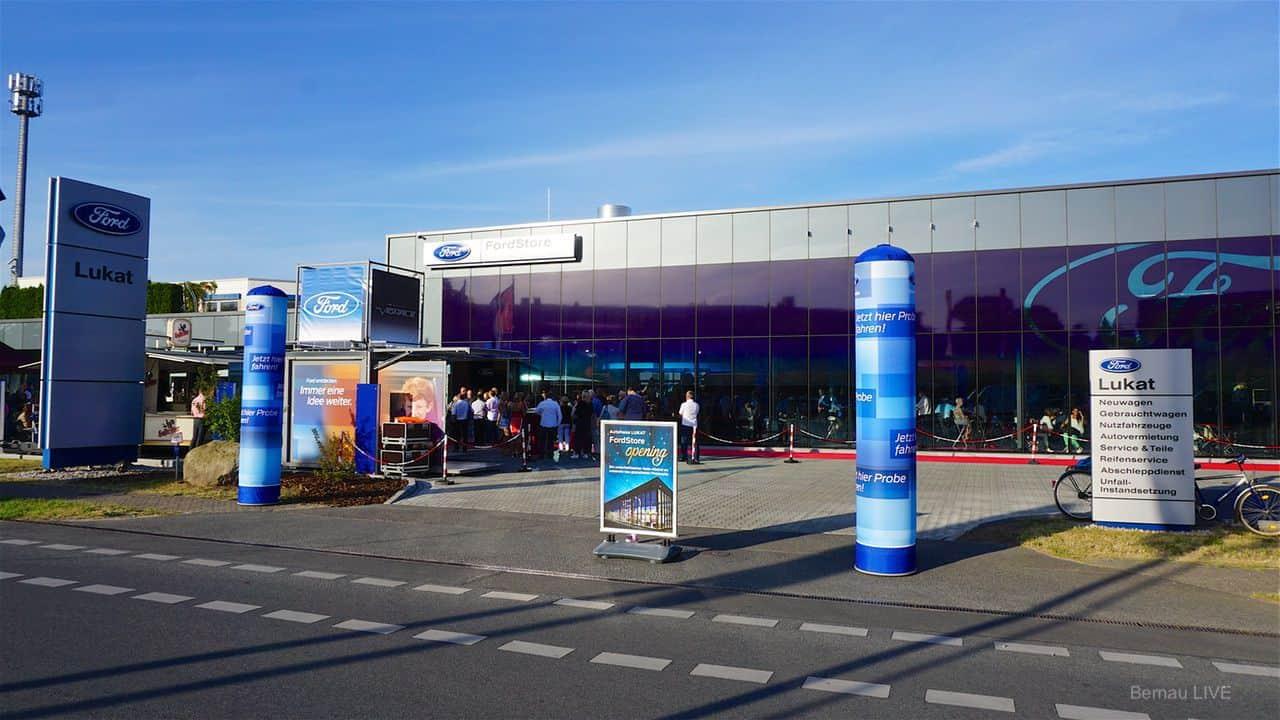 Bernau: Ford Lukat präsentierte neuen Store mit großer Abend-Gala