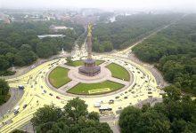 "Berlin: Greenpeace verwandelt ""Großen Stern"" in eine Sonne"