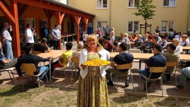In Bernau feierten Flüchtlinge und Gäste das Zuckerfest