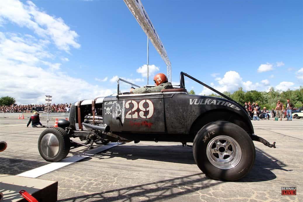 Bernau - Barnim - Tausende Besucher beim Race 61 - Roadrunners Festival in Finowfurt