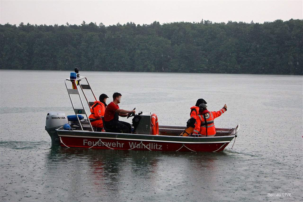 Vermisste Person meldet sich - Suche im Liepnitzsee abgebrochen