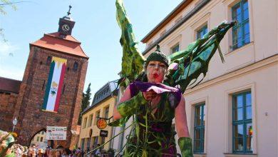 Das war der Festumzug zum Hussitenfest in Bernau - Video