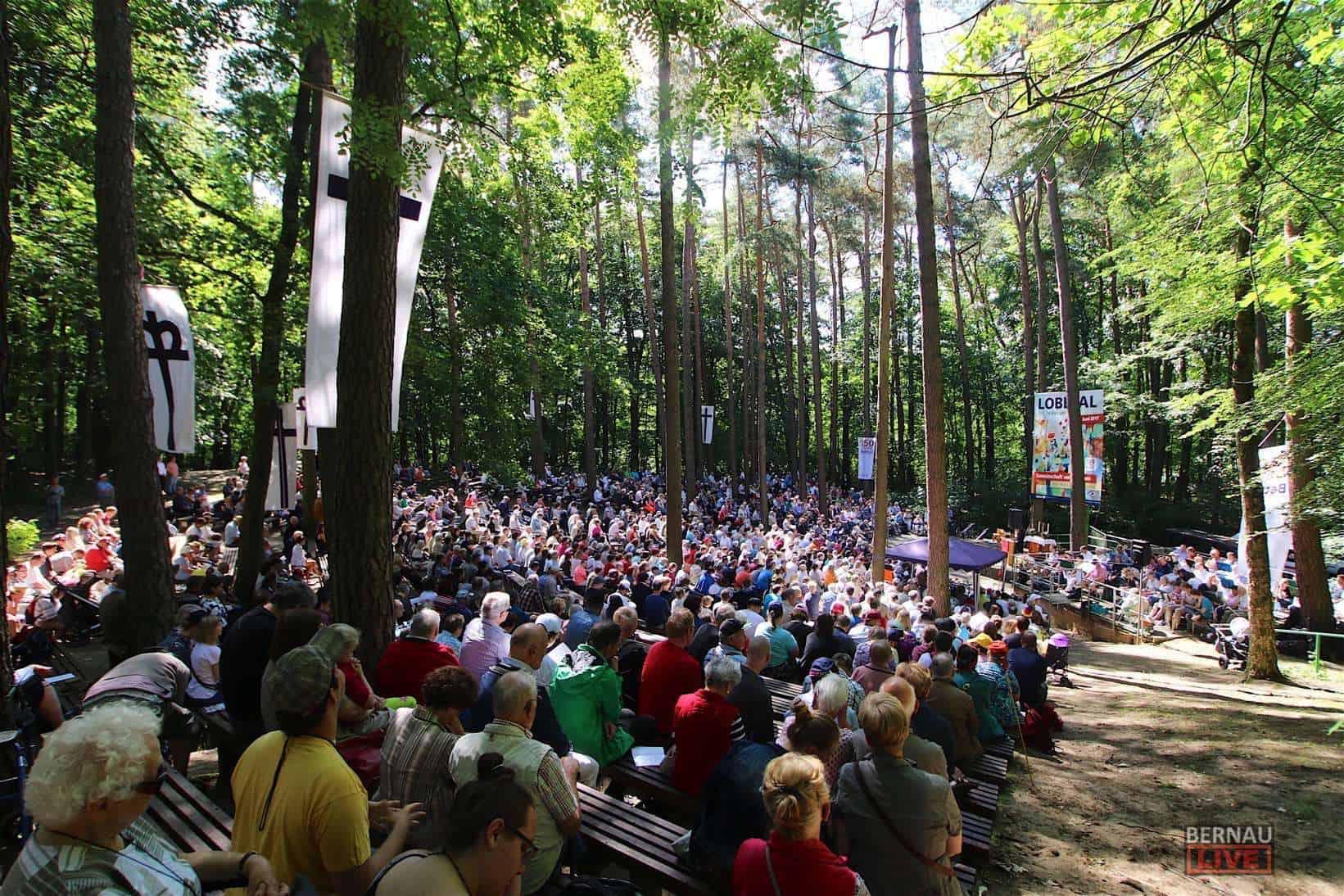 Bernau: 113. Jahresfest in Lobetal - Konzert am Mechesee - Bus-Shuttle
