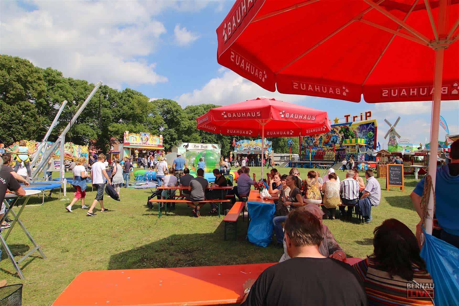 Dorf- und Vereinsfest im wunderschönen Rüdnitz