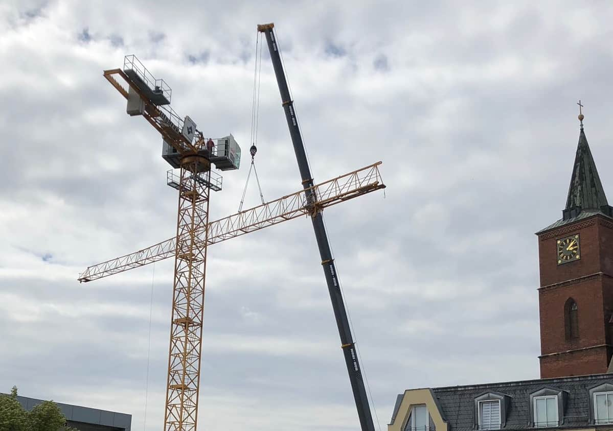 Rathausbau in Bernau: Jetzt sind wir ne richtige Baustelle