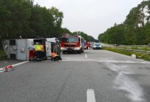 Verkehrshinweis: - Schwerer Verkehrsunfall auf der A11 kurz vor Chorin