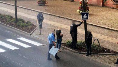 Eberswalde: Unbekannte malten sich einfach einen Fußgängerüberweg