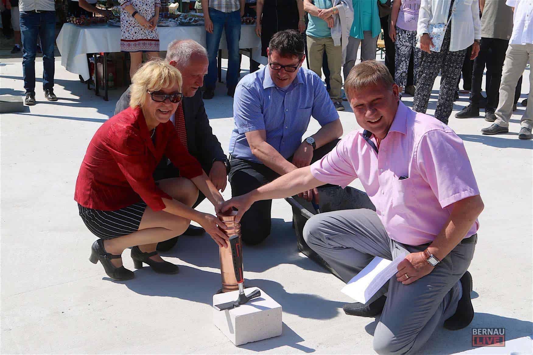 Die WOBAU Bernau feierte heute die Fertigstellung von 53 Wohnungen