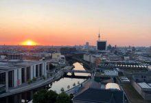Moin aus Berlin bei Bernau, Freitag, Sonne satt und bis zu 27 Grad!