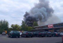 Panketal/Buch: Ein Brand beschäftigte die Feuerwehren am frühen Abend