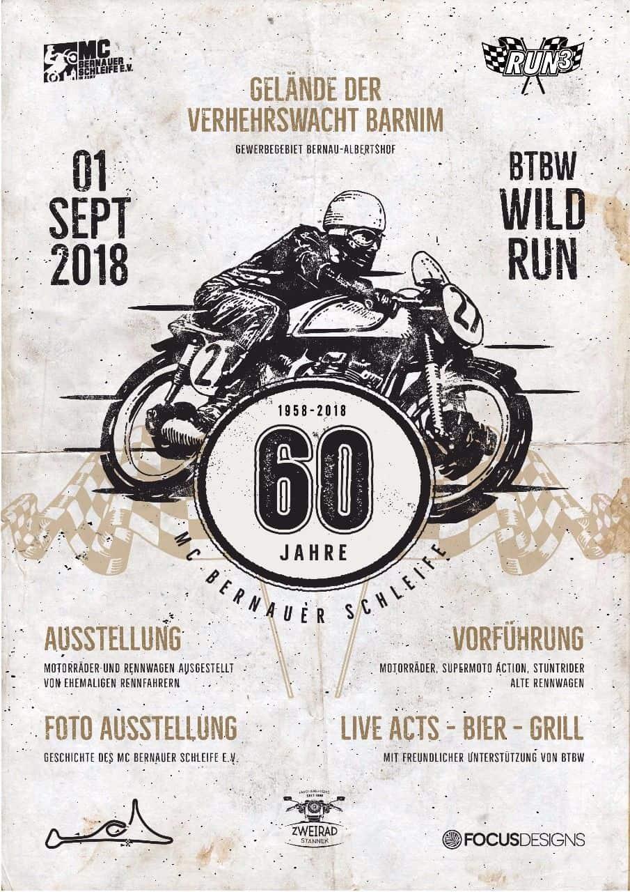 60 Jahre MC Bernauer Schleife - Mega Party am Samstag in Bernau