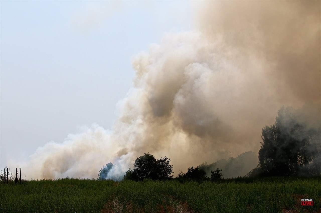 Bernau: Brand in Schönow unter Kontrolle - ein Kamerad verletzt