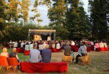 Theater auf der Badewiese & heutiges Lichterfest in Stolzenhagen