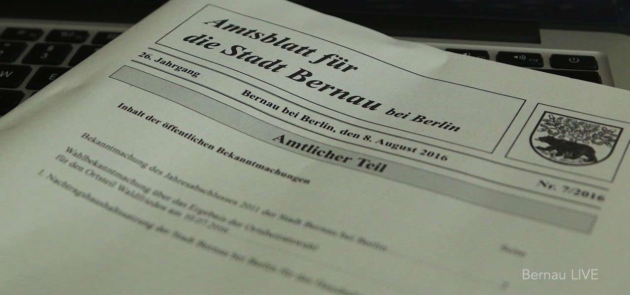 """Bernau: Aus einem grauen Amtsblatt ist ein bunter """"Bernauer"""" geworden"""