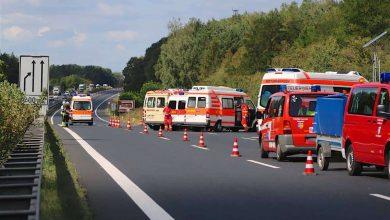 A10 - Nuthetal: Schwerer Verkehrsunfall mit Reisebus - 20 Verletzte