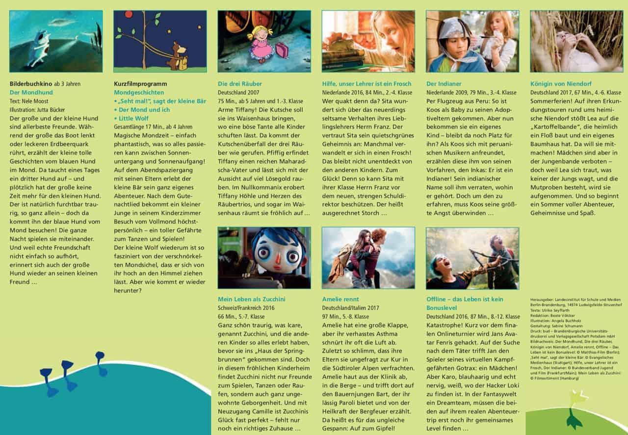 """Kinderfilmfest startet unter dem Motto """"Wo es mir gefällt"""" in Bernau"""
