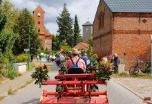 Erntefest in Danewitz - Alle waren und sind auf den Beinen