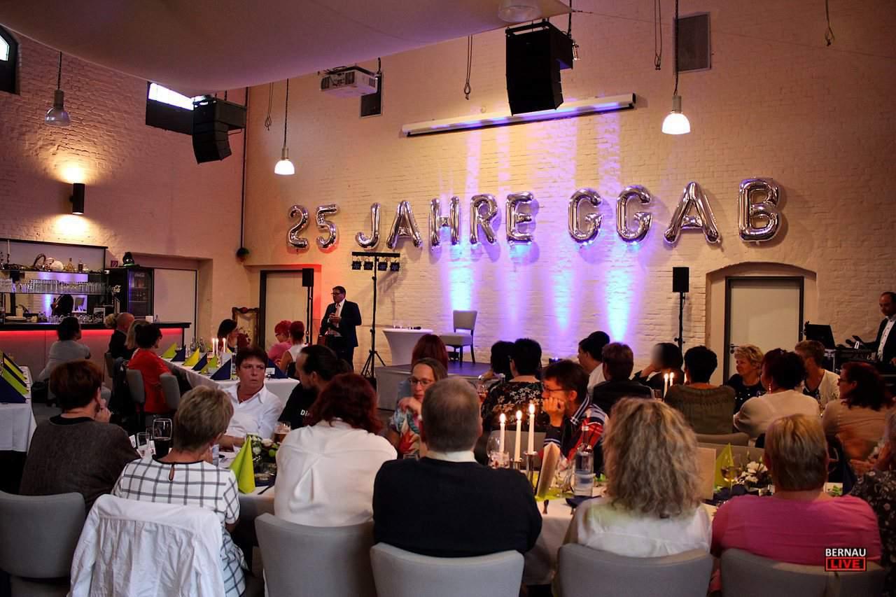 25 Jahre GGAB - mit einem Fest wurde im Ofenhaus Bernau gefeiert