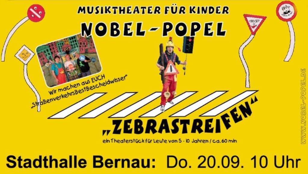 Bernau Nobel Popel Zeigt Zebrastreifen In Der Stadthalle Am Steintor