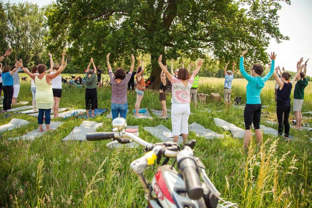 Gesundheitsmarkt und Yoga-Cycling-Tour am Donnerstag in Bernau