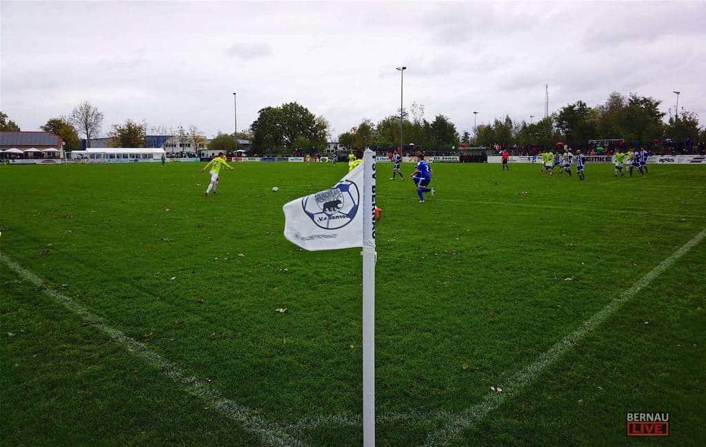 Fussball AOK Länderpokal in Bernau: FSV Bernau - FSV 63 Luckenwalde