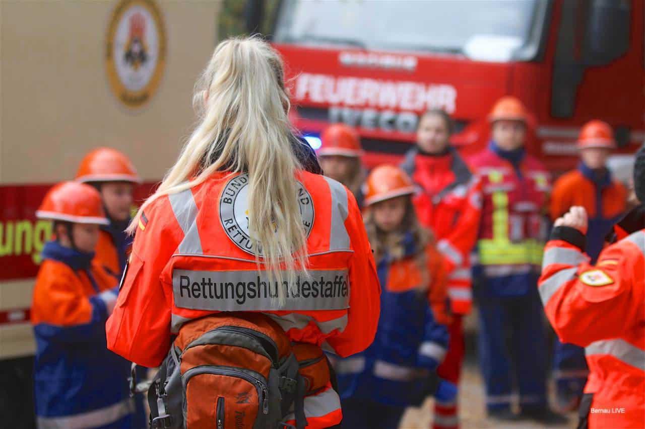 Berufsfeuerwehrtag der Jugendfeuerwehr in Biesenthal