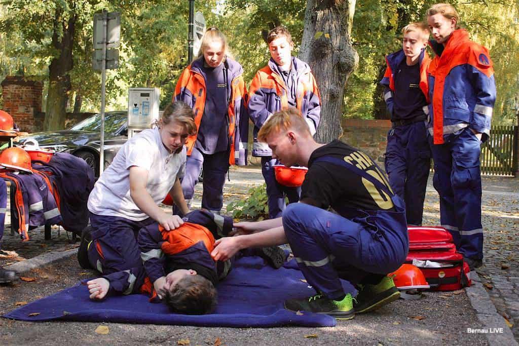 1. Kinder- und Jugendfeuerwehr Olympiade in Bernau