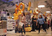 Spontane Tanz- und Gesangseinlage im Edeka-Center Bernau