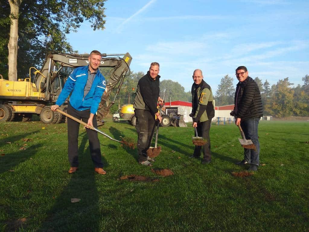 Bernau: Sportplatz in Ladeburg wird für 160.000 Euro modernisiert