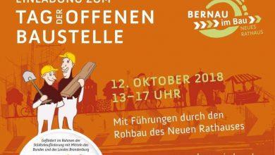 Rathausneubau Bernau: Tag der offenen Baustelle am 12. Oktober