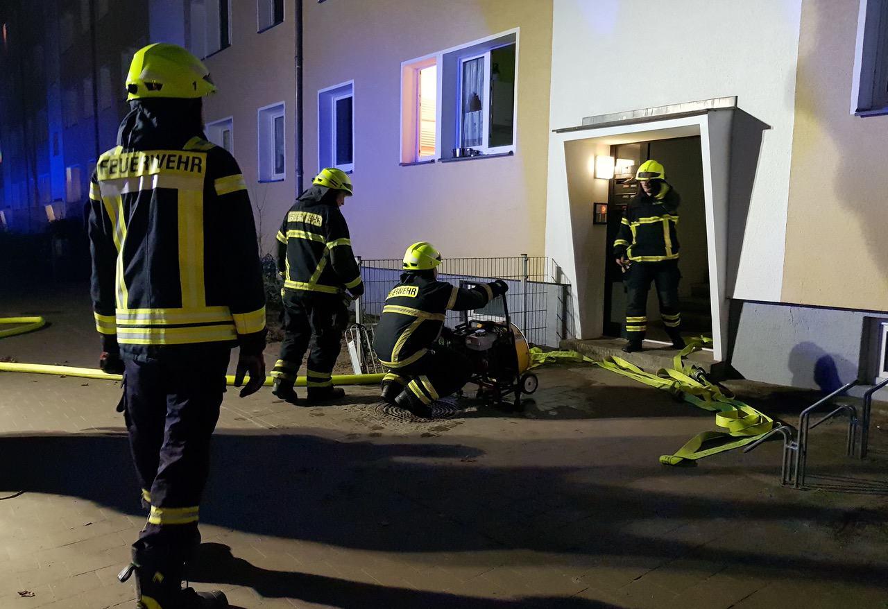 Verkohltes Essen sorgte für Großeinsatz der Feuerwehren in Bernau