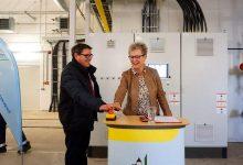 Neues Blockheizkraftwerk in Bernau Süd - Startknopf für 3.232 PS