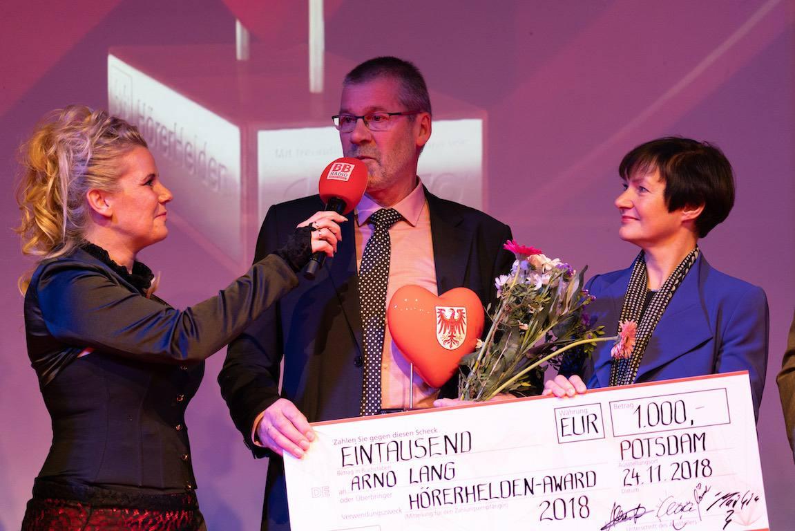 BB Radio Hörerhelden - Glückwunsch an Arno Lang aus Biesenthal