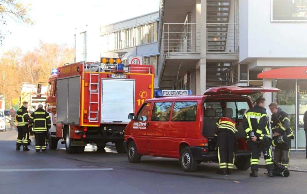Brandalarm im Rathaus Panketal - Zum Glück nur eine Übung