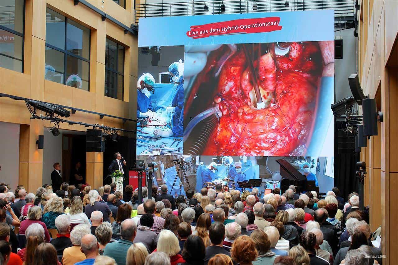 26. Tag des Herzzentrums in Bernau - Faszinierende Einblicke