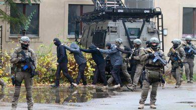 Anti-Terrorübung der Polizei Brandenburg endete heute in Bernau