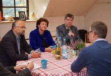 Britta Stark und Daniel Kurth besuchten die Hoffnungstaler Stiftung Lobetal