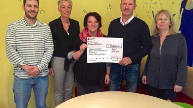 Panketaler Busbetrieb spendet 2.500 Euro an die Kindernachsorgeklinik