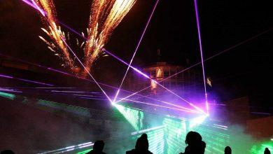 Morgen in Bernau: Feuerwerk- und Lasershow an der Bahnhofs-Passage
