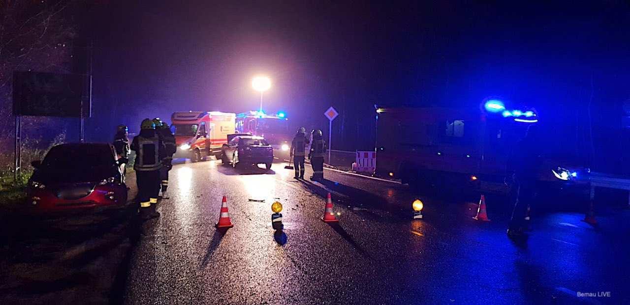 Verkehrshinweis Bernau - L200 Schwanebecker Chaussee - Unfall