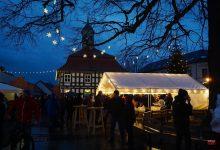 Weihnachtsmarkt in Biesenthal trotzte dem schlechten Wetter