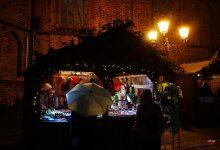 Adventsmarkt in Bernau - gut wer einen Regenschirm dabei hatte