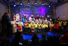 Weihnachtsmarkt in Bernau offiziell vor wenigen Minuten eröffnet