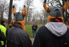 Jahresausklang beim alljährlichen Silvesterlauf im Stadtpark Bernau
