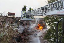 Hausbrand in Panketal: Leider leblose Person im Haus aufgefunden